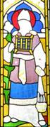 St. Patrick's window, Detail 1