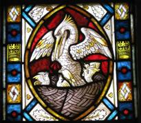The Pelican Window, Detail