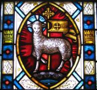 Agnus Dei window, Detail