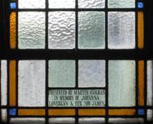 Sixth nave window, Detail 2
