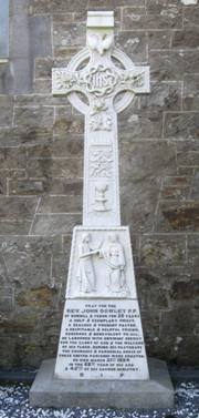 Fr. Dowley's headstone