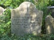 Fr. Walsh's headstone