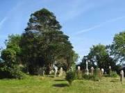 Church and graveyard