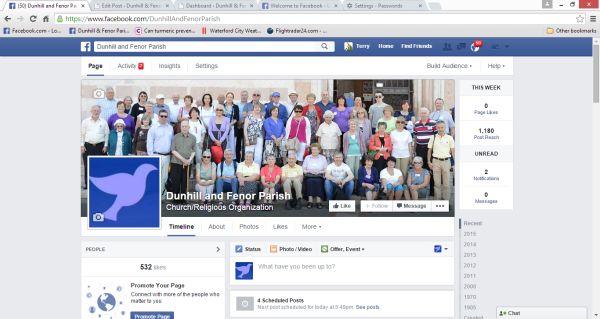Facebook welcome